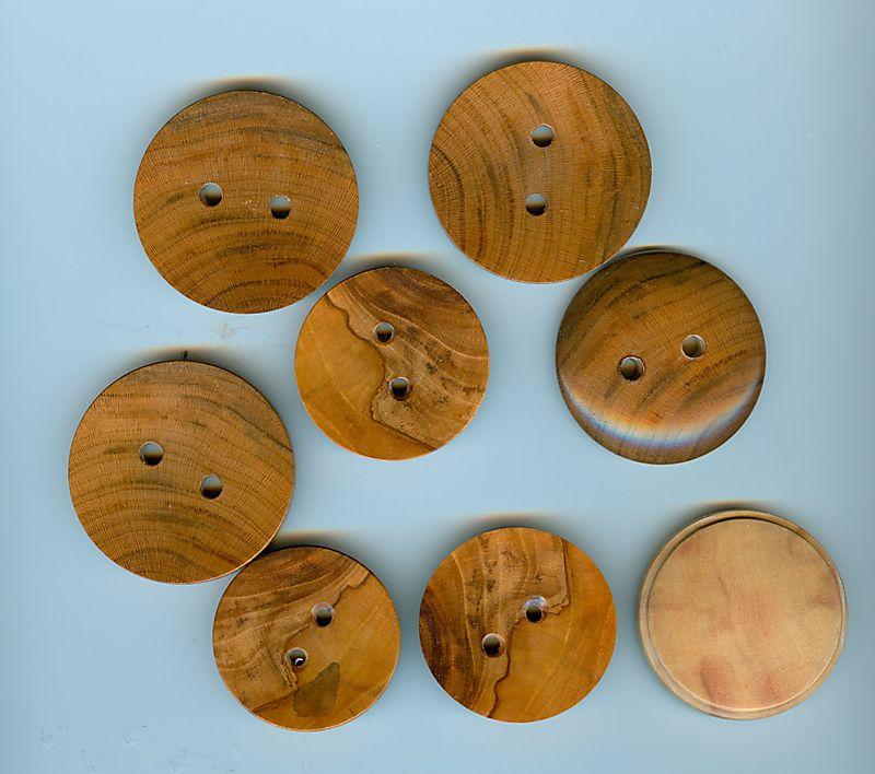 Brenda Behrens Wooden Buttons