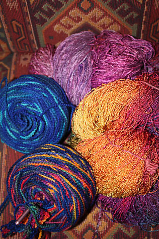 Drop Spindle Yarns