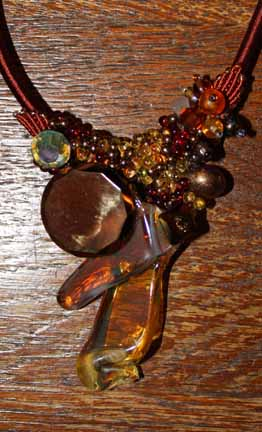 Lampwork Recycled Glass