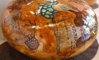 Loom on a Gourd