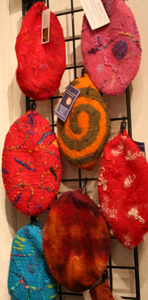 Felted Hats by Michelle Johnson