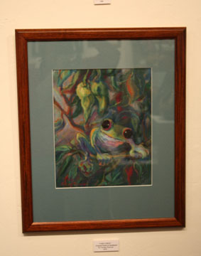 Carolyn Peterson Frog Painting