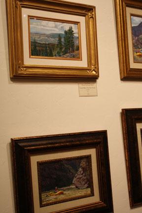 Paintings at Arts Prescott
