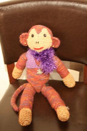 Monkey with Scarf