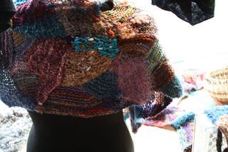 Cape of Absract Knitting