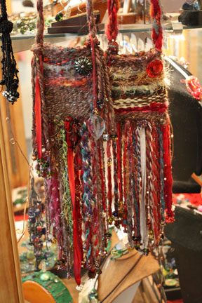 Rowena Fiber Amulet Bag