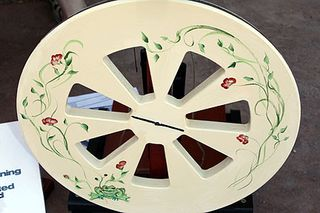 Albeck Handpainted Spinning Wheel