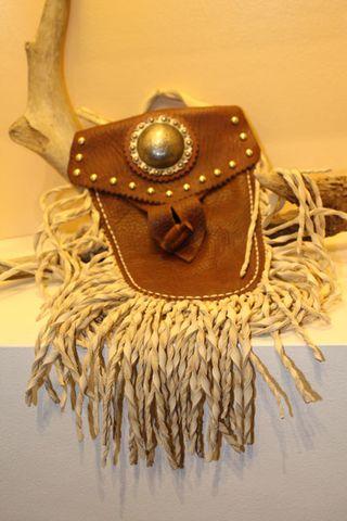 Fringe Leather Bag