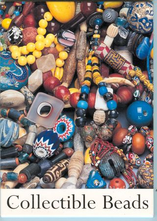 Collectible beads postcards