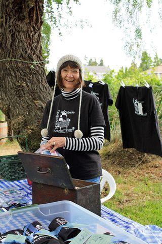 Tee Shirts at the Winery