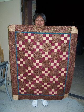 Quilt Created by Hopi