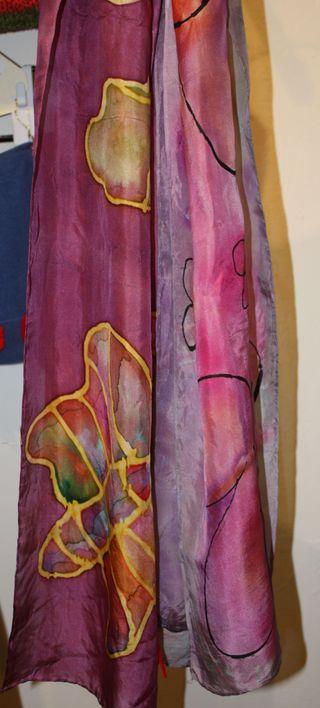 Handpainted Silk