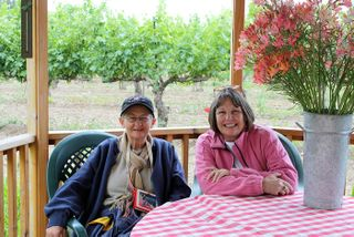 Glenda Campbell and Rowena Tank