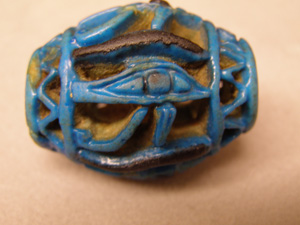 Bead from Caves to Castles exhibit