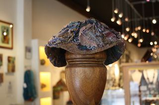 Off-Loom Bead Weaving Hat