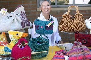 Linda Germain Felted purses