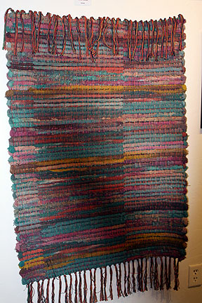 Woven Wall Hangings cindy myers hand woven wall hanging - arts prescott member show