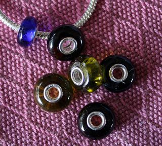 Recycled Wine Bottle Beads