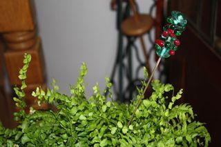 Lampwork Plant Adornment
