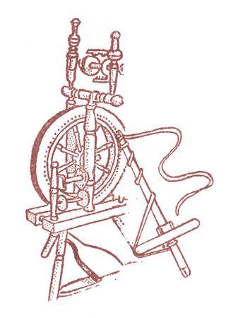 Spinningwheel Stamp