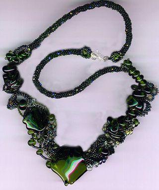 Merlot Necklace Rowena