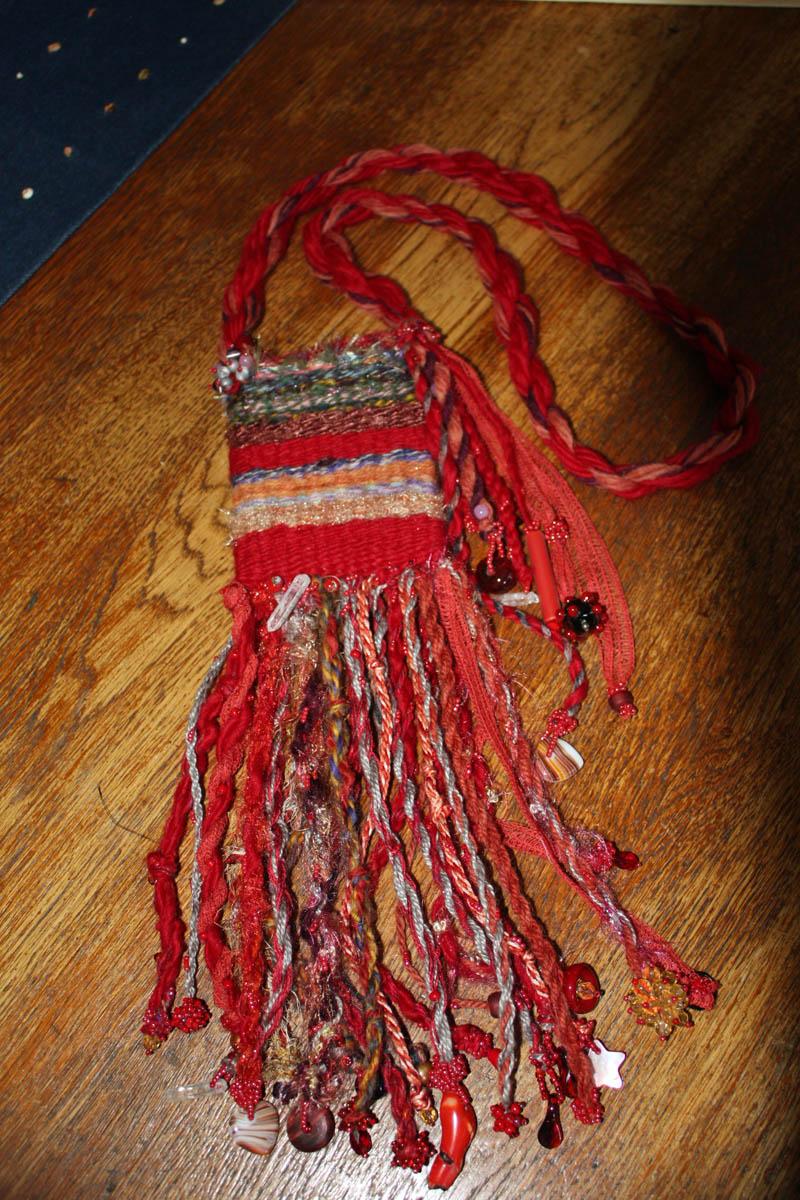 Fiber Amulet Bag