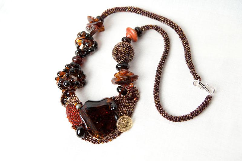 Kahlua and off loom bead weaving