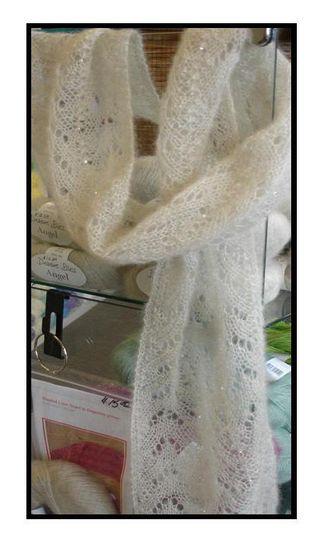 Beaded knit